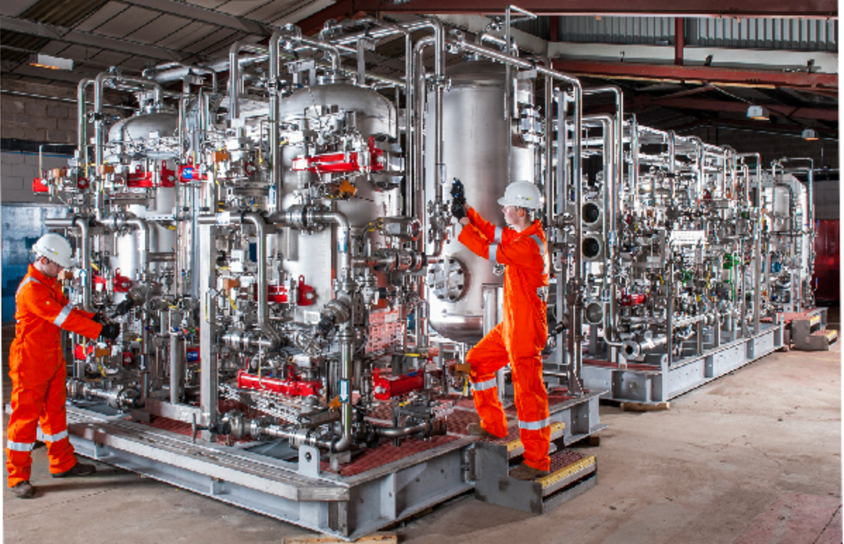 State Of The Art Offshore Water Treatment Facility